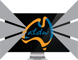 ATDW logo monitor roll over