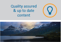 Quality Content roll over mountains