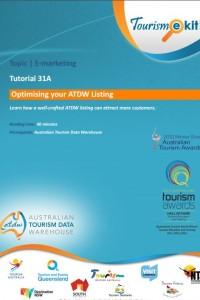 Tourism E Kit - Australian Tourism Data Warehouse
