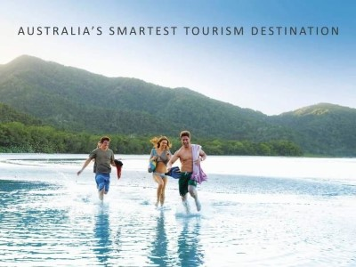 Australia's Smartest Tourism Destination running in water