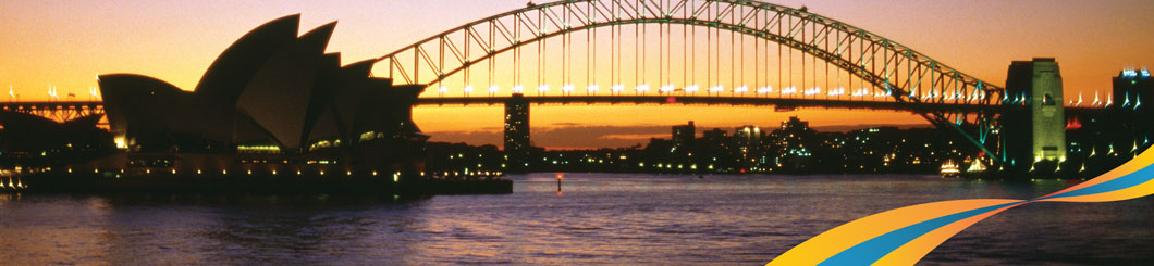 International Distribution Sydney Harbour Bridge banner